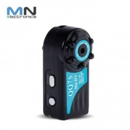 Mini Camara Espia Metal Qq6 1080p Full Hd Detecta Movimiento