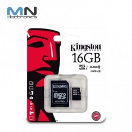 Memoria Micro Sd 16gb Kingston De Fabrica