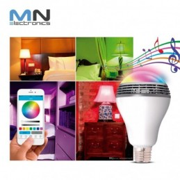 Foco Parlante Bluetooth Luz Led Android / Iphone