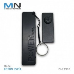 Camara Boton Espia Full Hd Video Anillo Magico