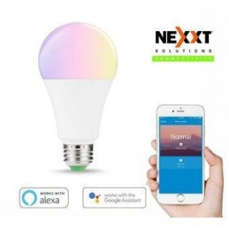 Foco WIFI Nexxt Solution  A19 CCT 220V